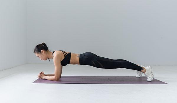 addominali plank