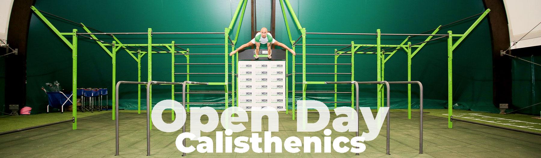 Open Day Calisthenics -Take Care Sport Center