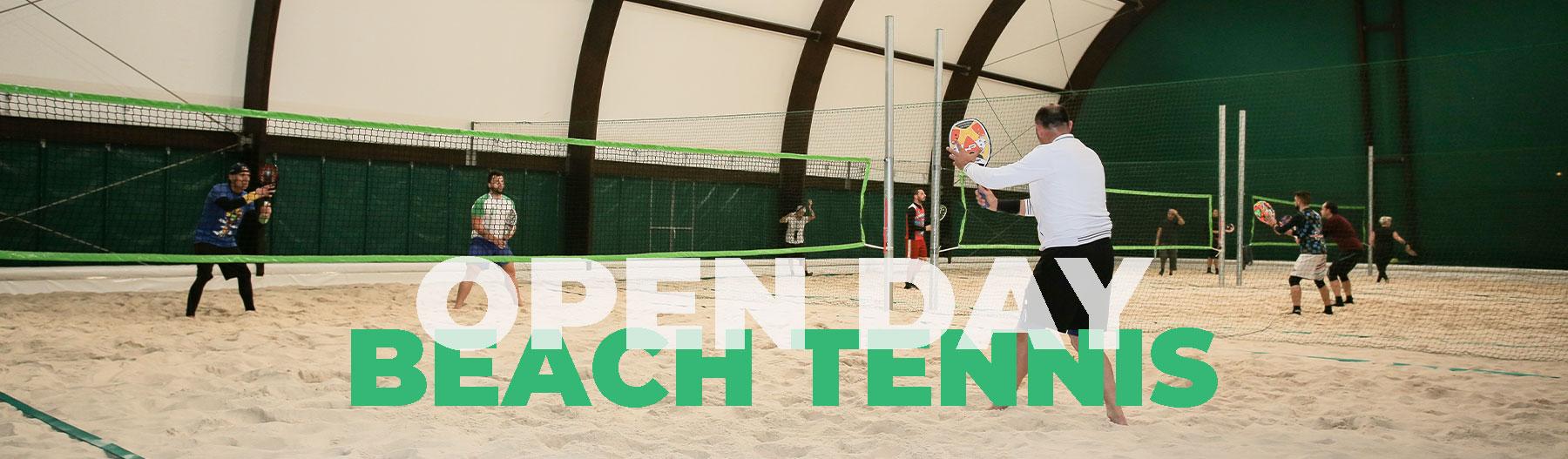 Open Day Beach Tennis -Take Care Sport Center