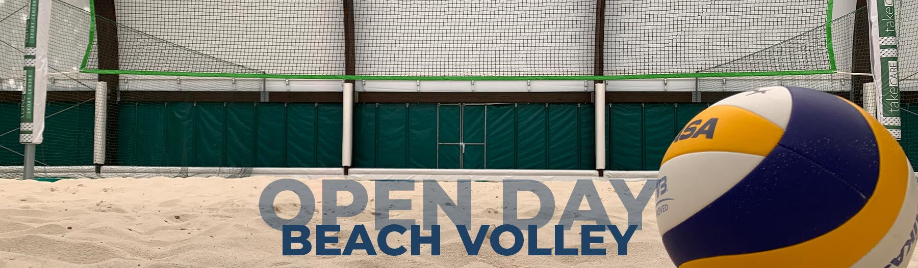 Open Day Beach Volley -Take Care Sport Center